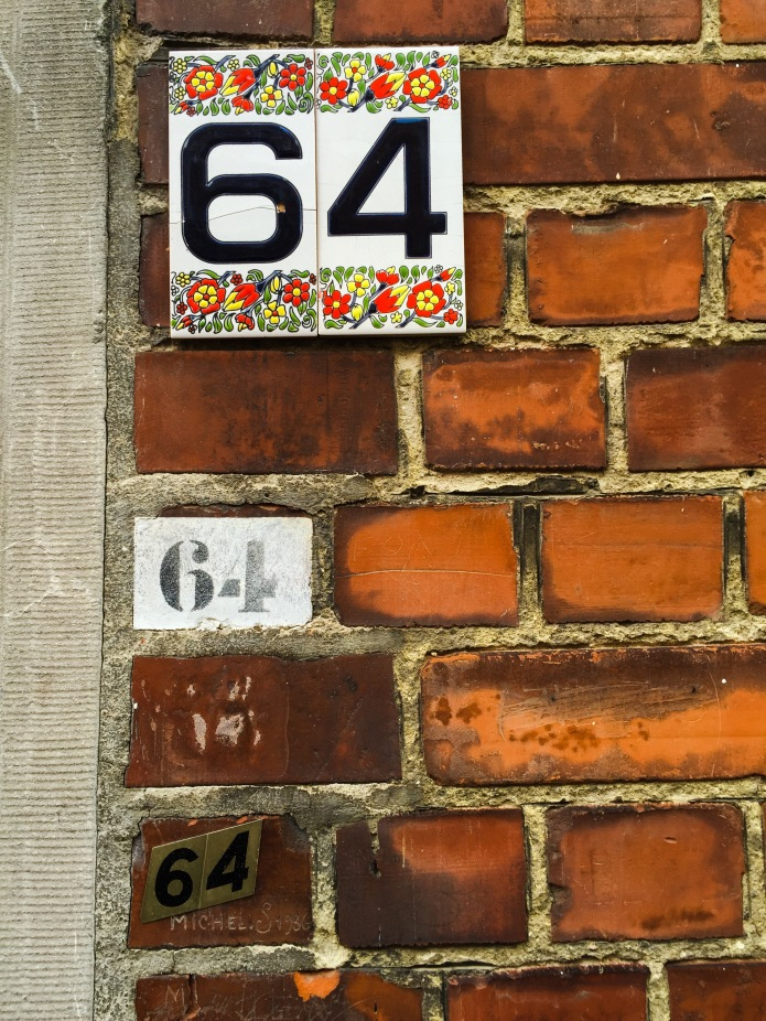 Nummer 64. Te Voet in de Stad. Foto Hendrik Vanden Abeele