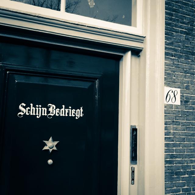 Leiden Oude Singel. Te Voet in de Stad. Foto Hendrik Elie Vanden Abeele