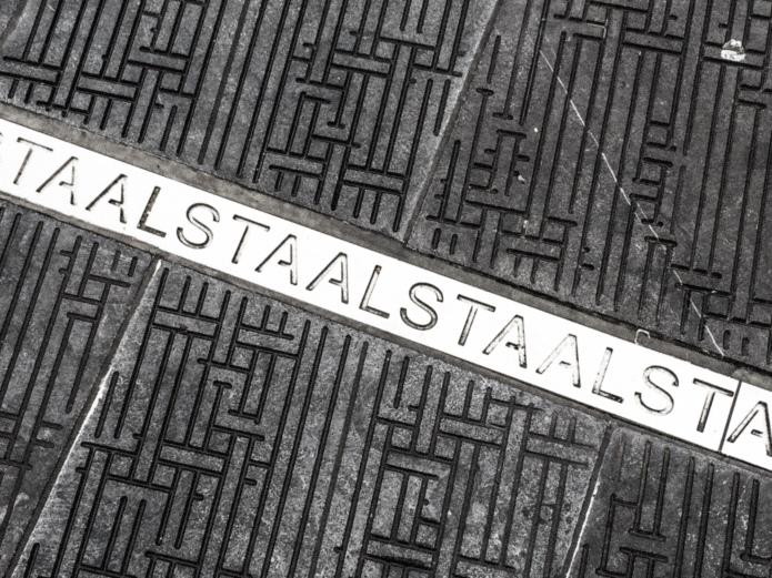 Aalst. Staal. Te Voet in de Stad. Foto Hendrik Elie Vanden Abeele