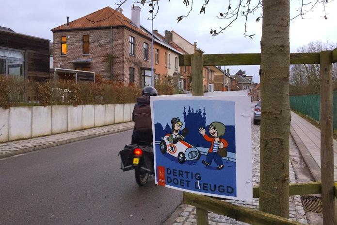 Dertig doet deugd. Te Voet in de Stad. Foto Hendrik Elie Vanden Abeele