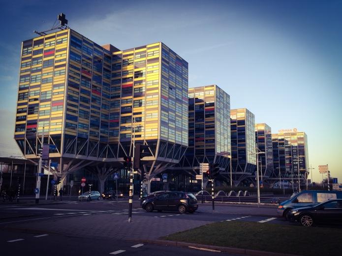 Achmea Leiden. Te Voet in de Stad. Foto Hendrik Elie Vanden Abeele