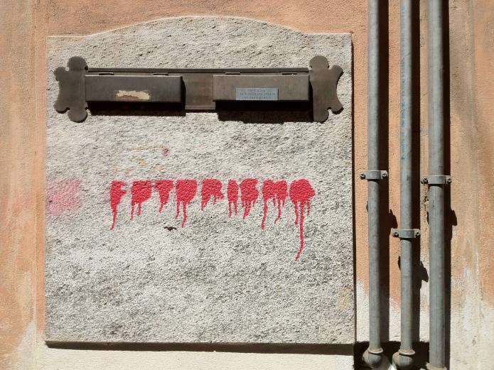 Futurismo. Te Voet in de Stad. Foto Hendrik Elie Vanden Abeele