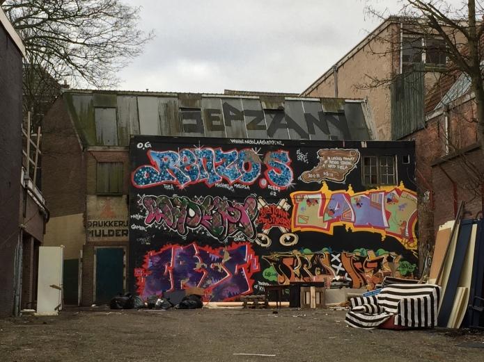 Drukkerij. Te Voet in de Stad. Foto Hendrik Elie Vanden Abeele