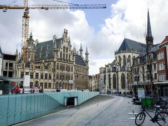 Fochplein. Rector de Somerplein. Te Voet in de Stad. Foto Hendrik Vanden Abeele