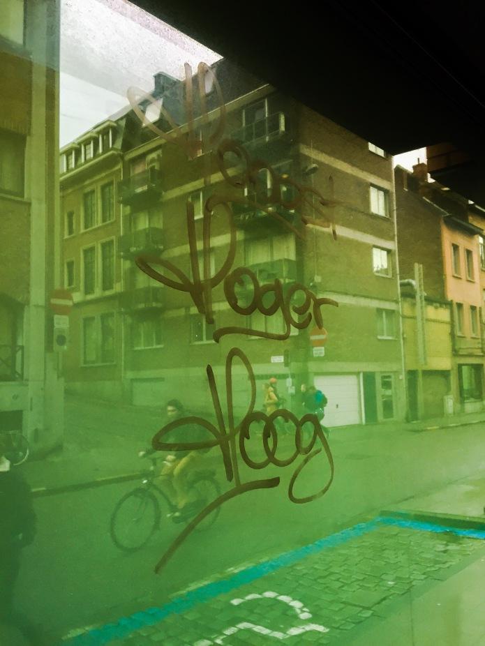 Overtreffende trap. Te Voet in de Stad. Foto Hendrik Elie Vanden Abeele