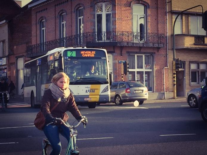 Ballon. Te Voet in de Stad. Foto Hendrik Vanden Abeele