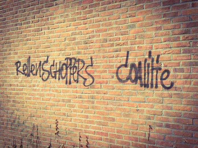 Rixvonderenpad. Rellenschoppers. Te Voet in de Stad. Foto Hendrik Elie Vanden Abeele
