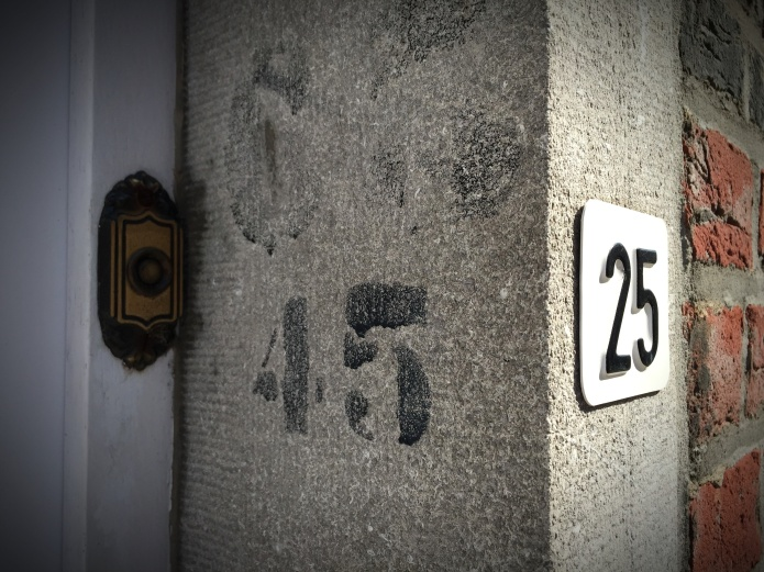Vijfentwintig. Te Voet in de Stad. Foto Hendrik Elie Vanden Abeele