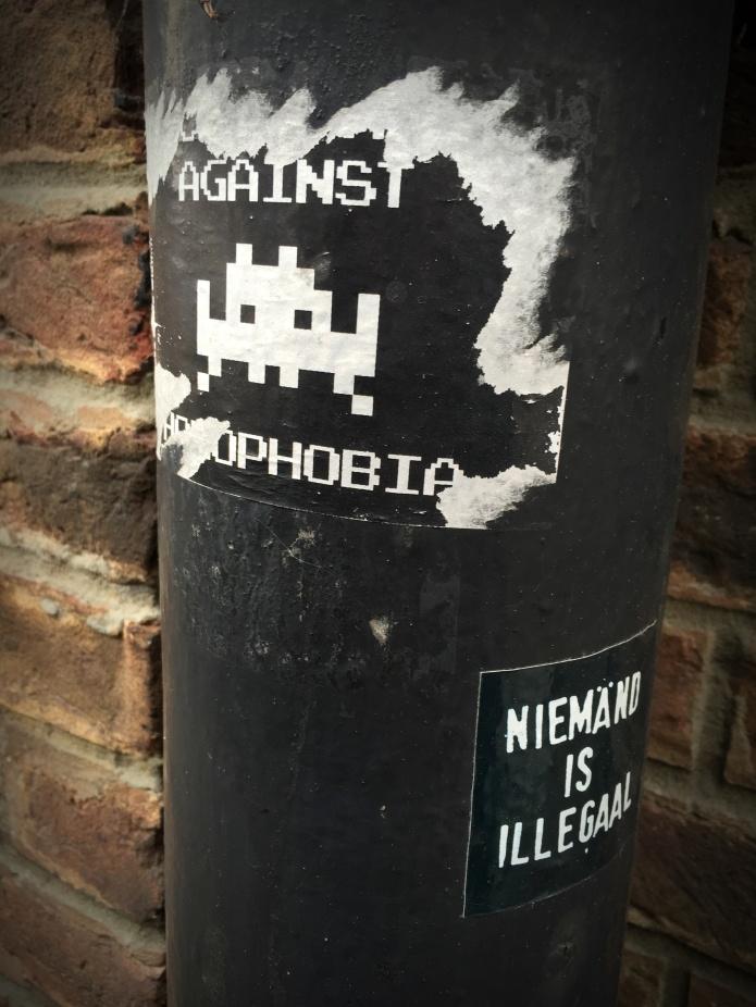 Homofobie. Te Voet in de Stad. Foto Hendrik Elie Vanden Abeele