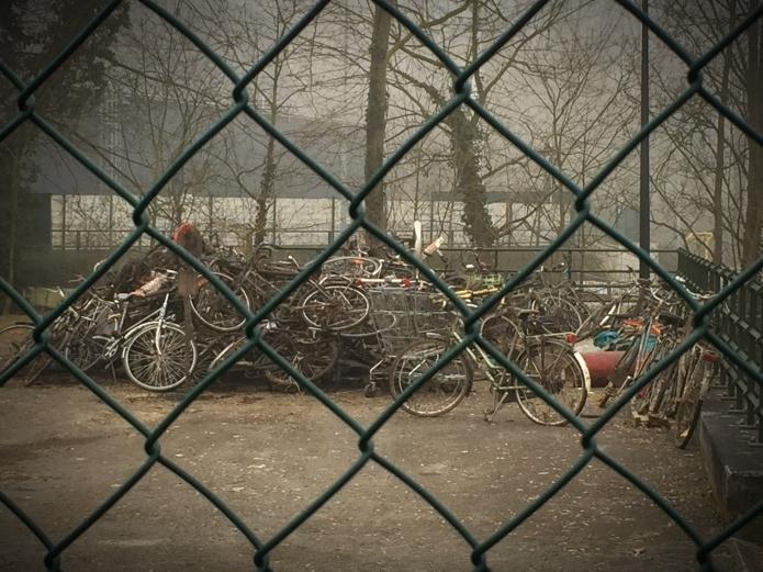 Waterfiets. Foto Hendrik Elie Vanden Abeele