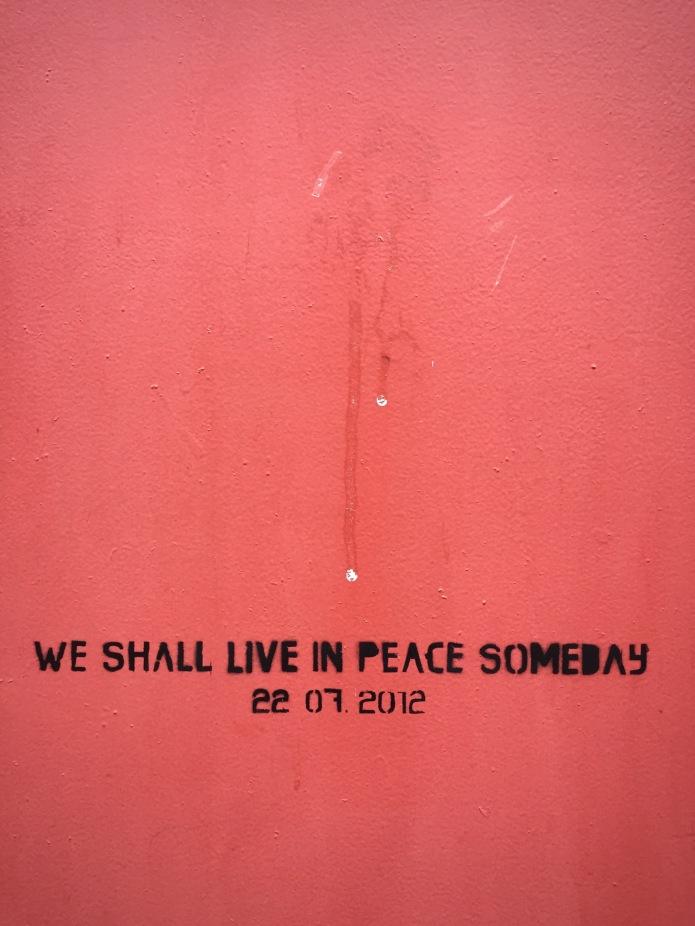 Peace Oslo. Foto Hendrik Elie Vanden Abeele