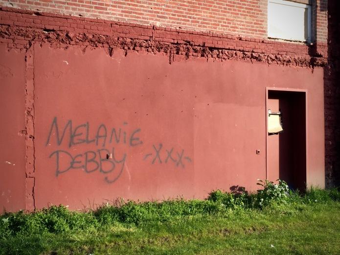 Debby en Melanie. Foto Hendrik Elie Vanden Abeele