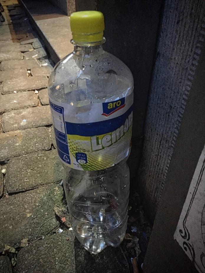 Booz #3 Aro Lemon. Leuven, Parijsstraat, 7 maart 2015. Te Voet in de Stad. Hendrik Vanden Abeele