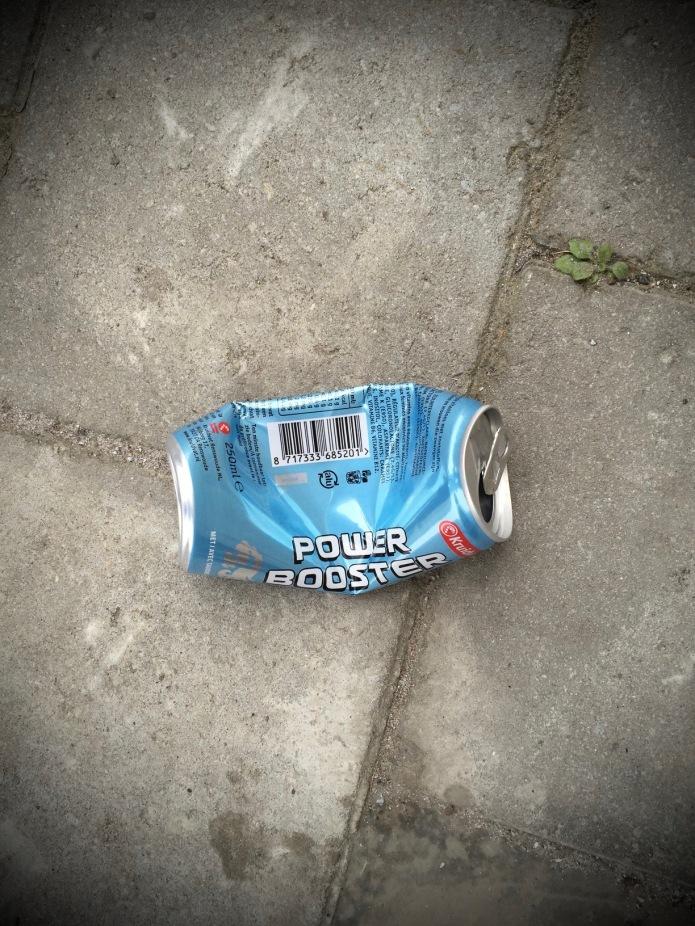 Booz #7 Power Booster. Te Voet in de Stad. Hendrik Vanden Abeele