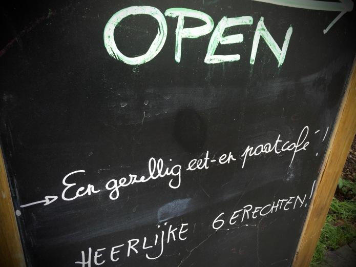 Een gezellig eet- en paatcafé Te Voet in de Stad Hendrik Vanden Abeele