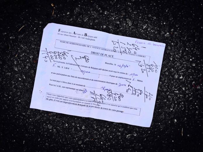 Groundtext #69 Droit de Place. Heverlee, Waversebaan, Foto Hendrik Elie Vanden Abeele. Te Voet in de Stad