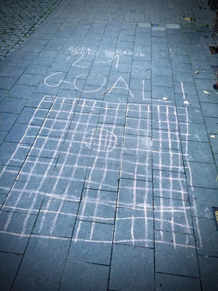 Rode Duivels. Te Voet in de Stad. Hendrik Vanden Abeele