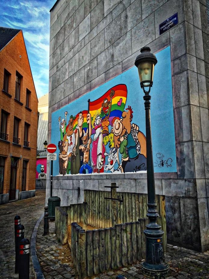 Vrolijke trots Te Voet in de Stad Hendrik Vanden Abeele