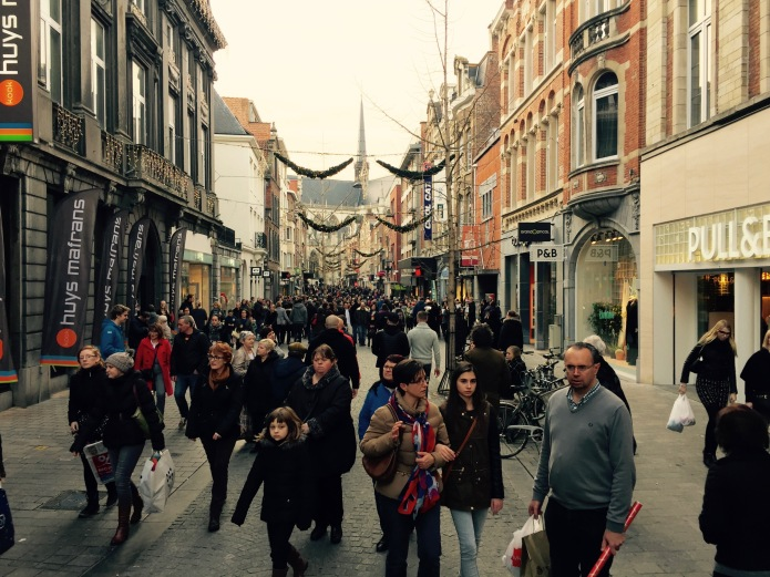 Zondagnamiddag Shoppen te Leuven