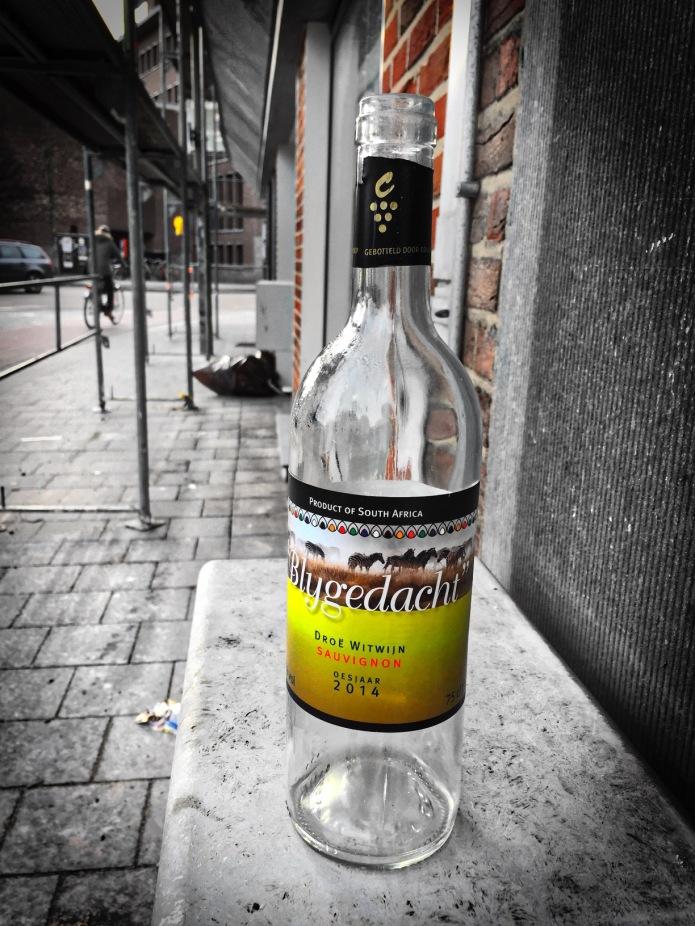 Booz #13 Blygedacht. Leuven, Brouwersstraat, 28 februari 2015. Te Voet in de Stad. Hendrik Vanden Abeele