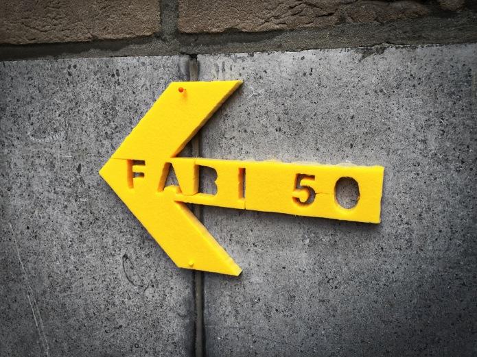 Fabi 50. Ik dacht dat ze dood was. Leuven, Minderbroedersstraat, 28 november 2015, Foto Hendrik Elie Vanden Abeele. Te Voet in de Stad