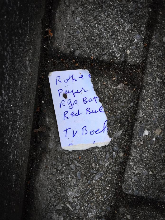 Groundtext #86 Rijs. Heverlee, Burgemeester Stanislas De Rijcklaan, 20 november 2015, Foto Hendrik Elie Vanden Abeele. Te Voet in de Stad