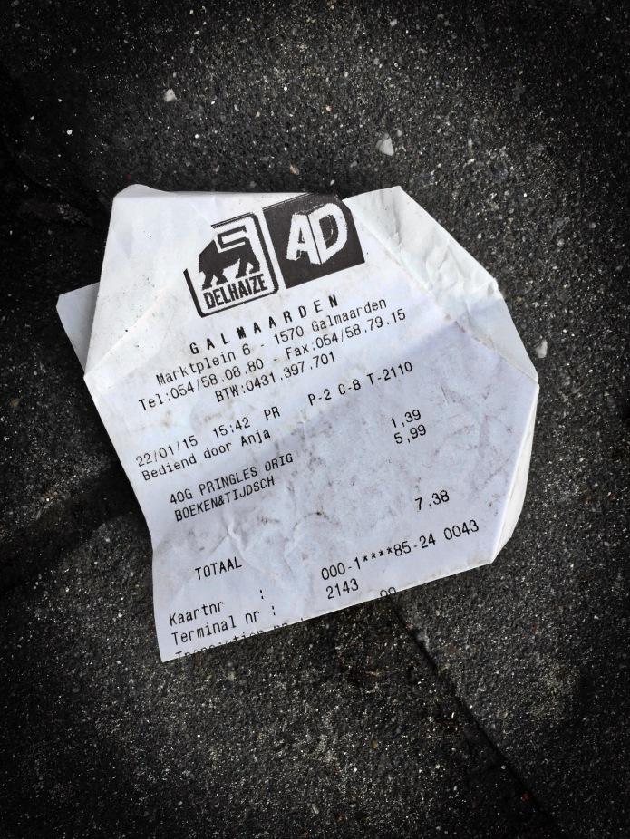 Ticketing #1 Galmaarden. Leuven, Redingenhof, 22 januari 2015, Foto Hendrik Elie Vanden Abeele. Te Voet in de Stad