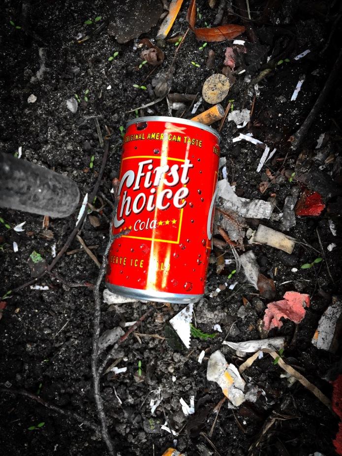 Booz #18 Fist Choice Cola. Leiden, Lange Mare, 8 februari 2015. Te Voet in de Stad. Hendrik Vanden Abeele
