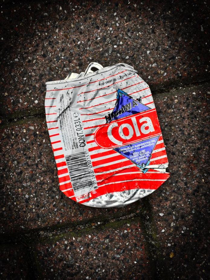 Booz #21 Highway Cola. Leiden, Schuttersveld, 8 februari 2015. Te Voet in de Stad. Hendrik Vanden Abeele