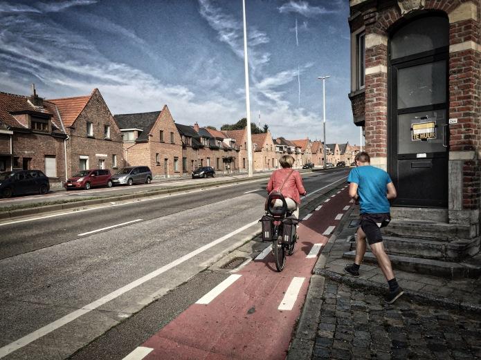 De Realiteit. Leuven, Tervuursevest, 20 augustus 2015, Foto Hendrik Elie Vanden Abeele. Te Voet in de Stad