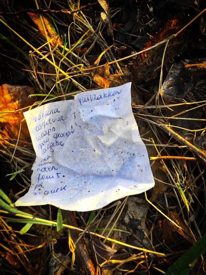 Groundtext #107 Maezena. Leuven, Tervuursevest, 7 april 2015, Foto Hendrik Elie Vanden Abeele
