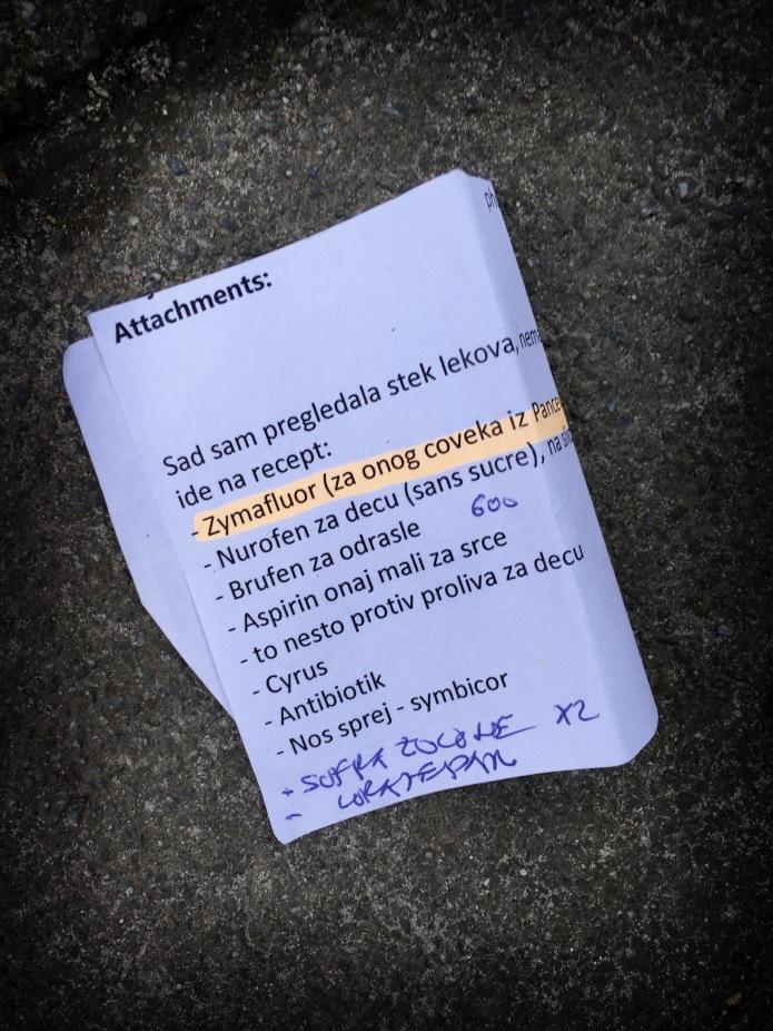Groundtext #119 Zymaflour. Leuven, Prosper Poulletlaan 20 september 2015, Foto Hendrik Elie Vanden Abeele. Te Voet in de Stad