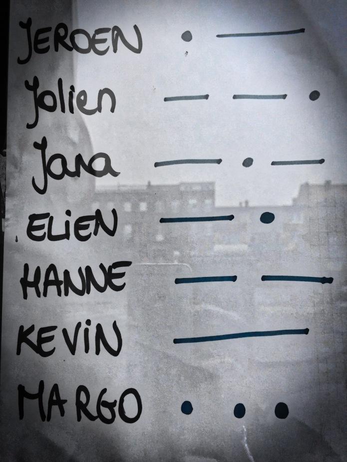 Koterij #23 Margo. Leuven, 25 maart 2015, Foto Hendrik Elie Vanden Abeele. Te Voet in de Stad