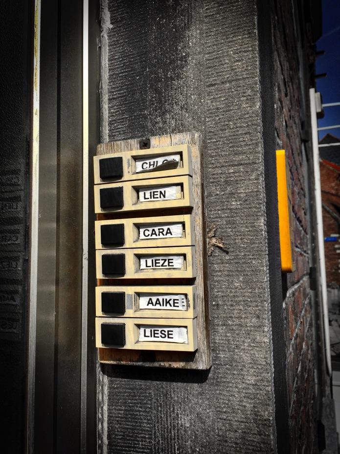 Koterij #24 Aaike. Leuven, 10 april 2015, Foto Hendrik Elie Vanden Abeele. Te Voet in de Stad