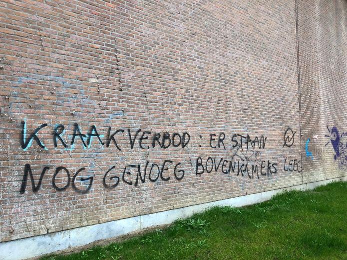 Bovenkamers leeg. Rixvonderendijk. 5 april 2018. Foto Hendrik Elie Vanden Abeele, Te Voet in de Stad